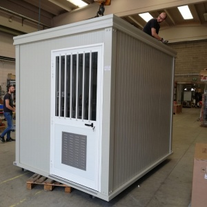 Photovoltaic shelters