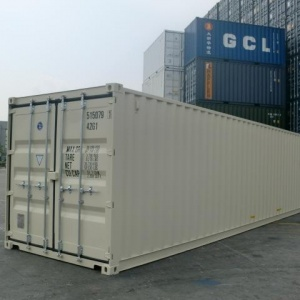 40' box container