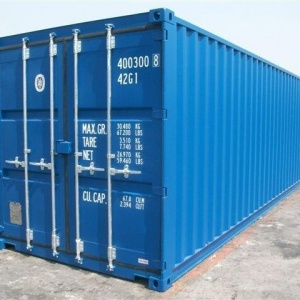 20' box container