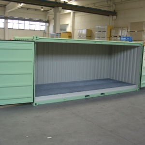 cost for a second hand  container