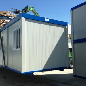 prefabricated transport by container